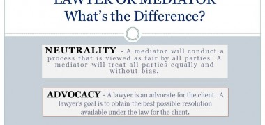The Role of Lawyer and Mediator in a Wa Divorce Mediation
